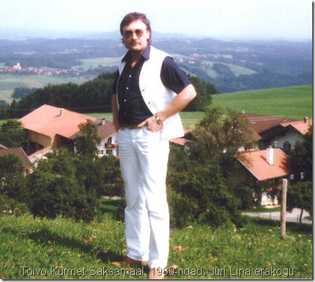 Toivo Kurmet Saksamaal. 1980-ndad